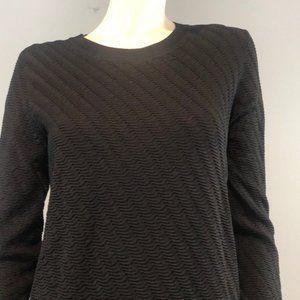 Theory Black Sweater Crew neck